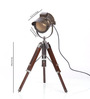 Ethnic Roots Antique Finish Tripod Table Lamp
