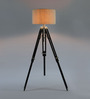 Ethnic Roots Black Mango Wood Tripod Lamp Base