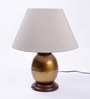 Ethnic Roots Gold Metal Table Lamp Base