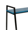 Etoy Bench in Matte Blue Colour by Inscape Design