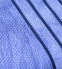 Eurospa Velour Blue Cotton Bath Towel