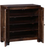 Everson Shoe Rack in Provincial Teak Finish by Woodsworth