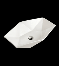 Exor White Ceramic Wash Basin (Model: 1071)