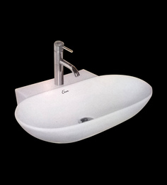 Exor White Ceramic Wash Basin (Model: 3039)