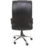 Leatherette Executive Chair in Black Colour by KS