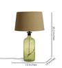 Fabuliv Black Cotton Table Lamp