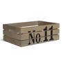 Fabuliv Ewen Mango Wood White Wooden Crate