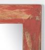 Fabuliv Red Mango Wood Casalina Wall Mounted Mirror