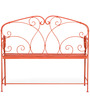 Famella Bench in Red Colour by @home
