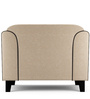 Ferris One Seater Sofa in Cream Color by Furny