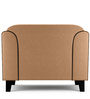 Ferris One Seater Sofa in Light Camel Colour by Furny
