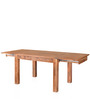 Festo Six Seater Solid Wood Dining Table in Brown Colour by @Home