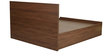 Fischer Queen Bed with Storage in Columbia Walnut Finish by Mintwud
