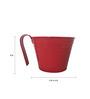 First Smart Deal Red Gi Railing Bucket