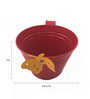 First Smart Deal Red Gi Railing Bucket