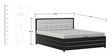 Double Lifton Bed with Back Cushion by FurnitureKraft