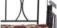 Flint Sofa cum Bed in Black Colour Metallic Frame by Nilkamal