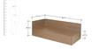 Floyd Single Bed with Storage in Valigny Oak Finish by Godrej Interio
