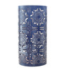 Madhurya Black Metal Floral Lamp Shade
