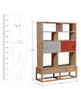 Vermillion Display Unit in Natural Finish by Woodsworth
