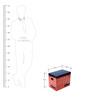 FLYFROG KIDS Transport Red Wood and MDF 3 Kg Storage Box