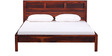 Oakland Queen Size Bed in Honey Oak Finish by Woodsworth