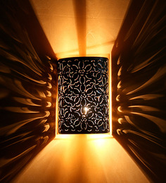 Fos Lighting Flower Cutting Wall Light