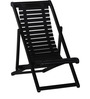 Doncaster Folding Chair in Espresso Walnut Finish by Amberville