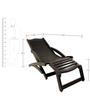 Folding Chair in Walnut Finish by Lakkarhara