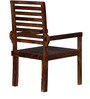 Dallas Arm Chair in Provincial Teak Finish by Woodsworth