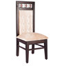 Four Seater Dining Set in Brown & Beige Colour by Karigar