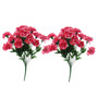 Fourwalls Pink Artificial Carnation Flower Set