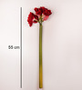 Foyer Non-Toxic Red Artificial Flower