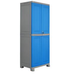 Freedom Big Storage Cabinet In Dark Blue & Grey Colour By @Home