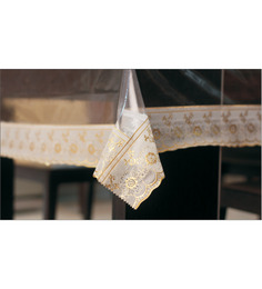 Freelance Golden Lacy Table Cover (108 X 60 Inches)