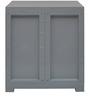 Freedom Mini Small Storage Cabinet FMS in Dark Blue & Grey Colour by Nilkamal