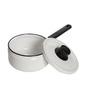 Fujihoro 2200 ML Sauce/Milk Pan - White