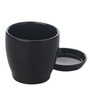 Gaia Black Ceramic Glazed Table Top