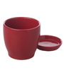 Gaia Red Ceramic Glazed Table Top