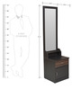 Crysler Dressing Table in Wenge Colour by Crystal Furnitech