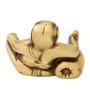 Devantakanashakarin Ganesh Idol in Brown by Mudramark