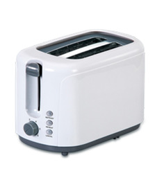 Glen Gl 3019 Pop Up Toaster- White