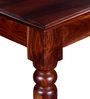 Glydon Six Seater Dining Set in Honey Oak Finish by Amberville