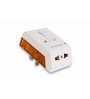 GM 3 PIN White Travel Multiplug Set of 2