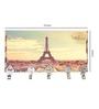 Go Hooked Multicolour MDF Paris Theme Key Holder
