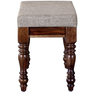 Grafton Bench in Provincial Teak Finish by Amberville