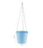 Green Girgit Light Blue Hanging Bucket