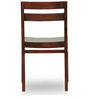 Gresham-Barcelona Six Seater Dining Table Set in Mahogany Finish by The ArmChair