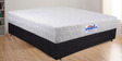 Guardian 6 Inch Thick King-Size Memory Foam Pocket Spring Mattress by Springtek