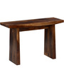 Morton Console Table in Provincial Teak Finish by Woodsworth